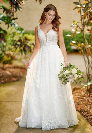 Essense of Australia D3127 A-Line Wedding Dress
