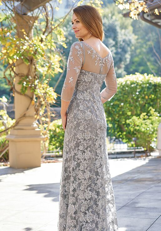 Jade Couture Mother of the Bride by Jasmine K208064 Silver Mother Of The Bride Dress