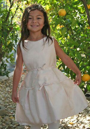 Isabel Garretón Treasure Pink Flower Girl Dress