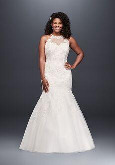 David's Bridal Jewel Style 9WG3735 Mermaid Wedding Dress