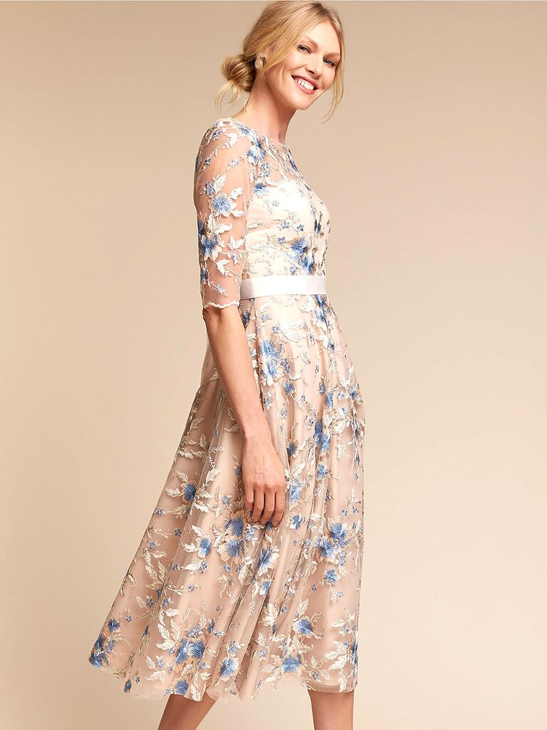 Betsy & Adam spring wedding guest dresses
