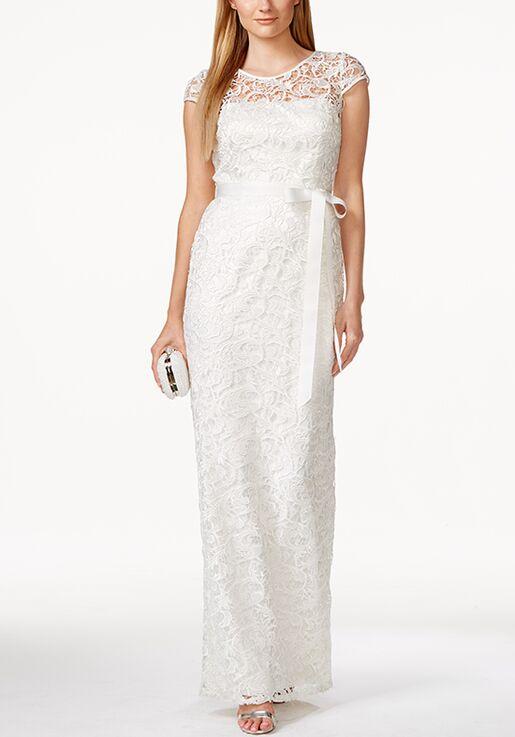 Adrianna Papell Wedding Dresses Adrianna Papell Cap Sleeve