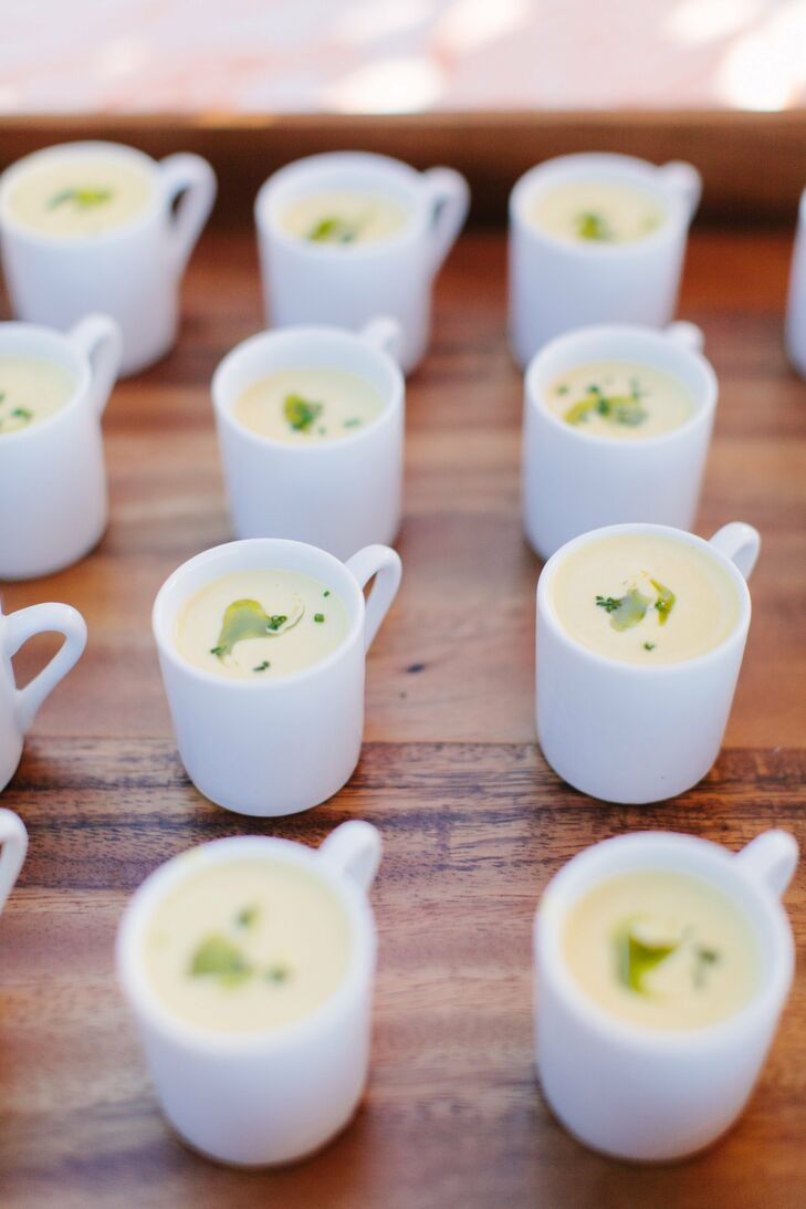 Cocktail Hour Soup Hors D'oeuvres