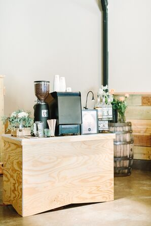 A Shot of Espresso at the Reception