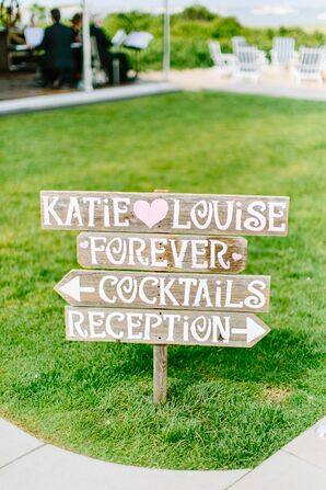 Hand-Painted Wooden Welcome Signs