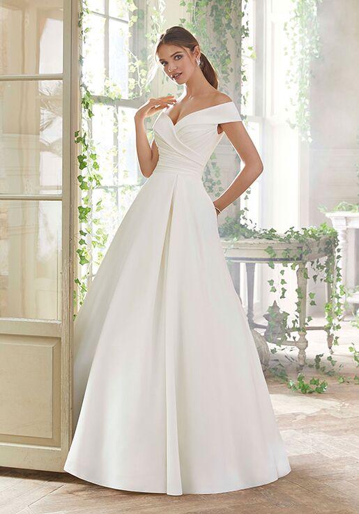 ebf723ff6c1c Morilee by Madeline Gardner/Blu Providence Wedding Dress   The Knot
