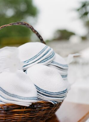 Yarmulkes at Traditional Jewish Ceremony