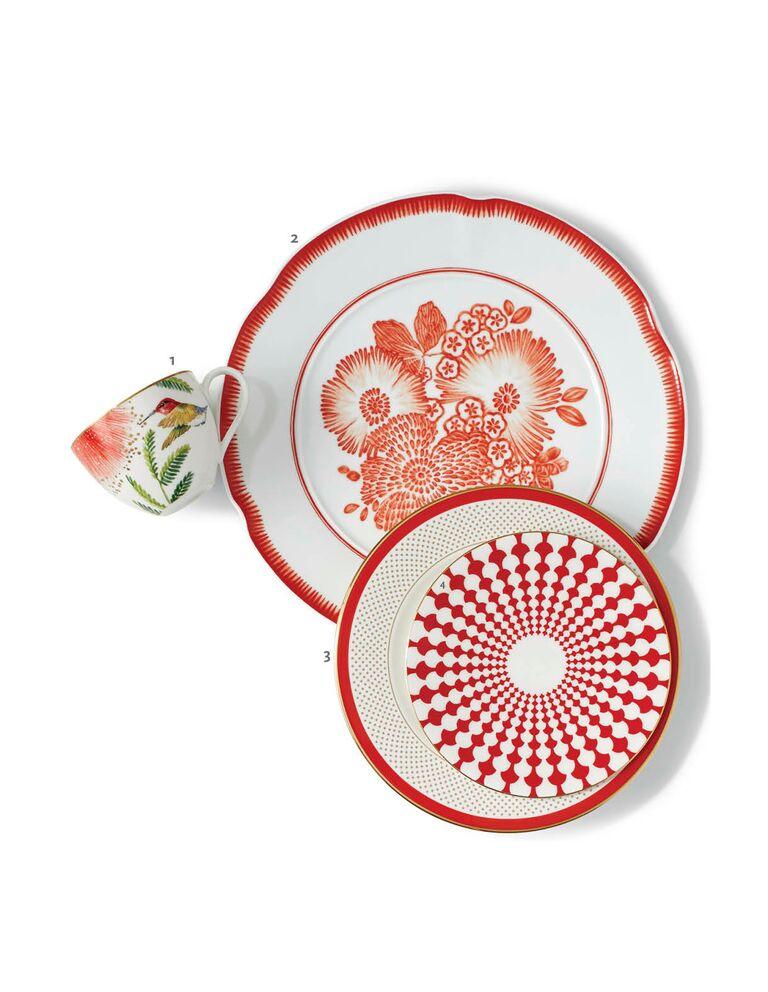 Red mixed china