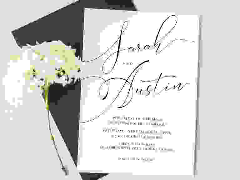 21 Wedding Invitation Templates You Can Print Yourself