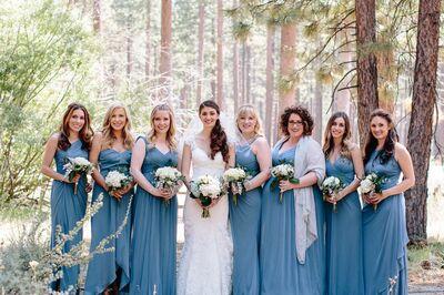Tahoe Wedding Hair