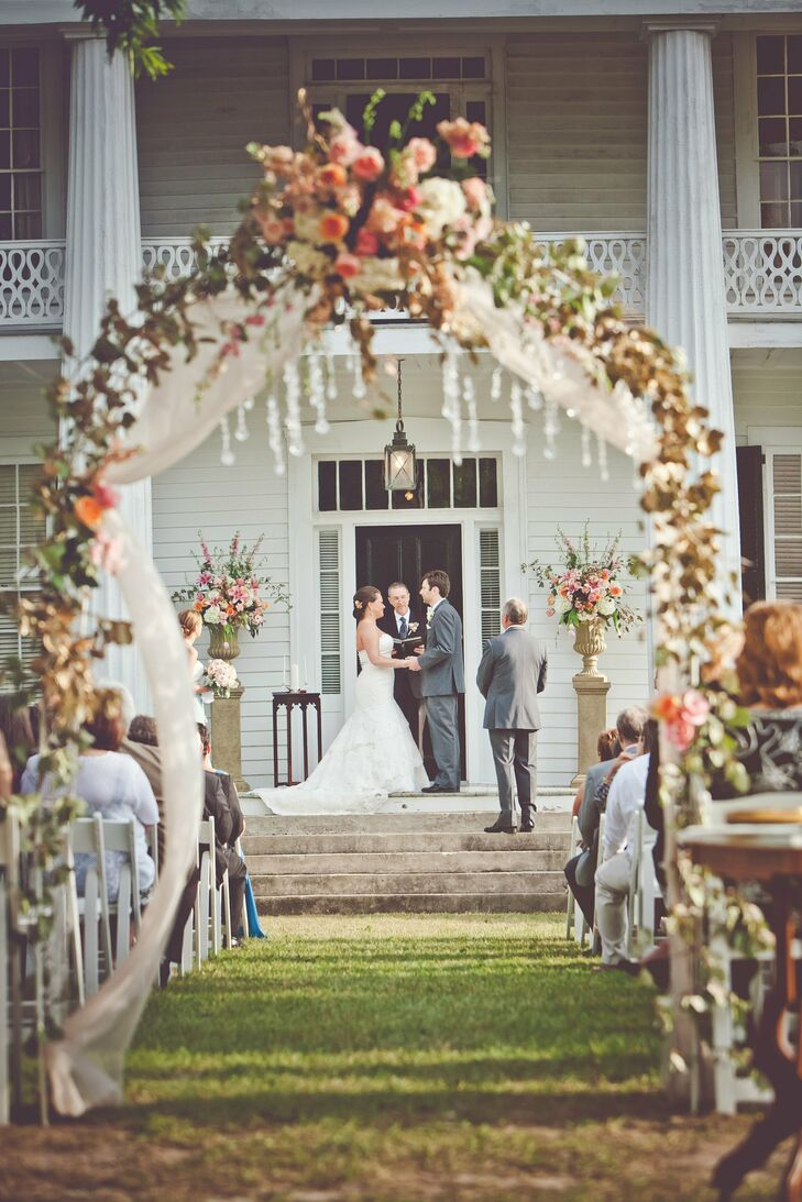 Ceremony Arbor with Crystal Beading