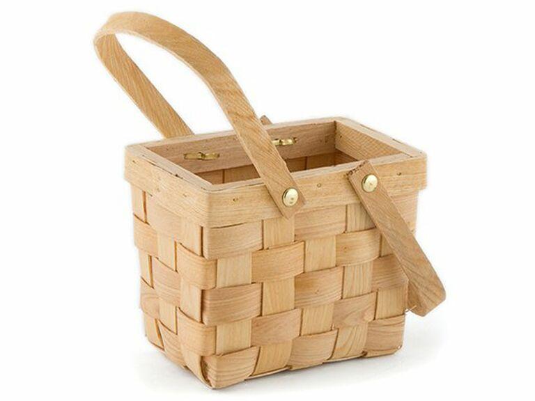 picnic flower girl basket