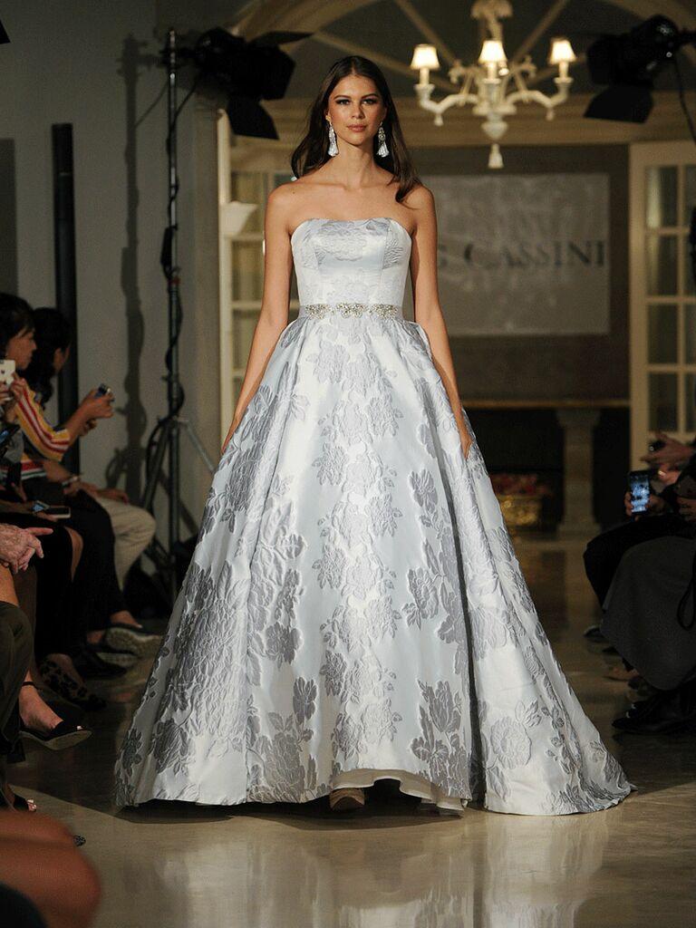 Oleg Cassini Fall 2018 Collection: Bridal Fashion Week Photos