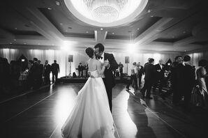 Glamorous Park Hyatt Ballroom Wedding