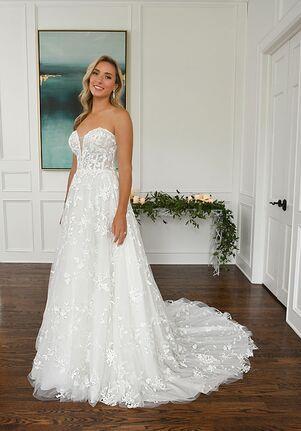 Essense of Australia D3258 A-Line Wedding Dress