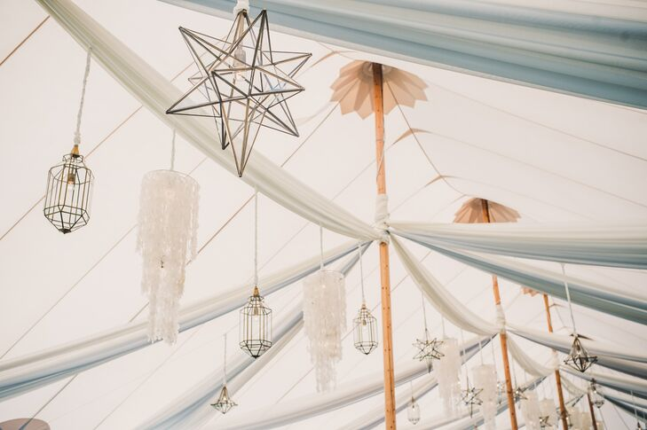 Mixed Chandeliers and Star Lanterns