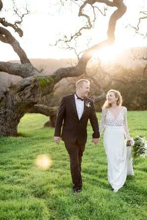 Classic, Elegant Couple at Holman Ranch in Carmel Valley, California