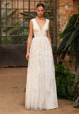 ZAC POSEN FOR WHITE ONE RUTH Mermaid Wedding Dress