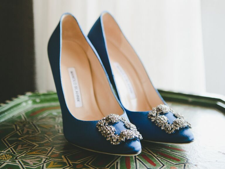 The 8 Best Blue Wedding Shoes