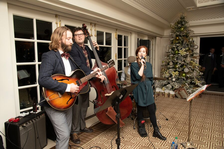 Holiday Party at Hay Adams Hotel
