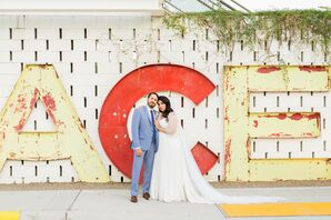 Wedding Portraits at the Ace Hotel and Swim Club in Palm Springs