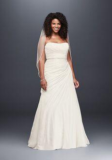 David's Bridal David's Bridal Style 9V3540 A-Line Wedding Dress
