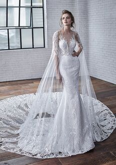 Badgley Mischka Bride Cayenne A-Line Wedding Dress