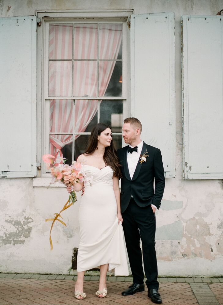 """Carly Fekete and Derrek Roskovensky channeled the culture of New Orleans for their day. """"We tried our best to capture the city's love of music, delici"""