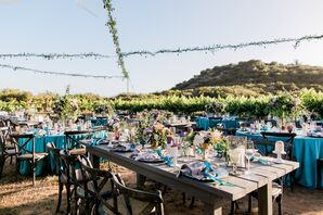 Rustic-Modern Vineyard Reception