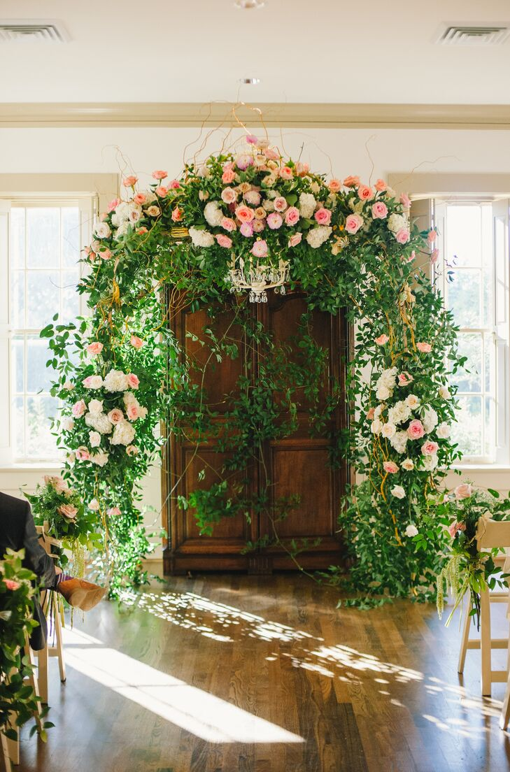 A Clic Wedding At River Oaks Garden Club Forum Of Civics