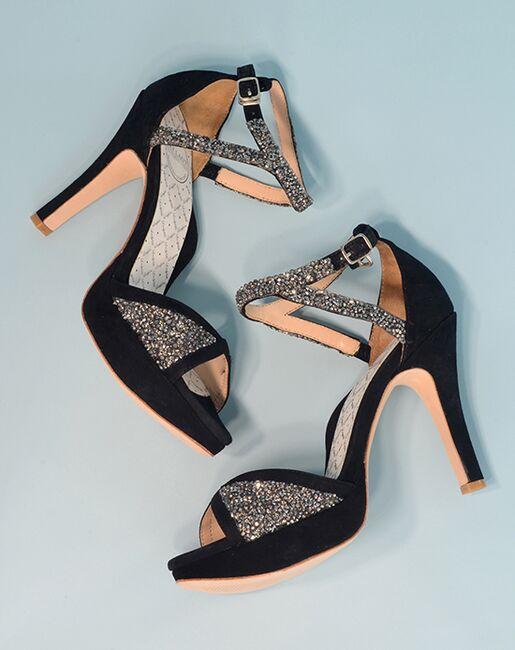 Hey Lady Shoes Fancypants Black, Gray, Pink, Silver, White Shoe