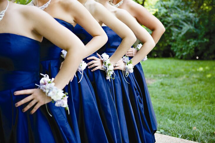 Bridesmaid Bracelet Bouquets