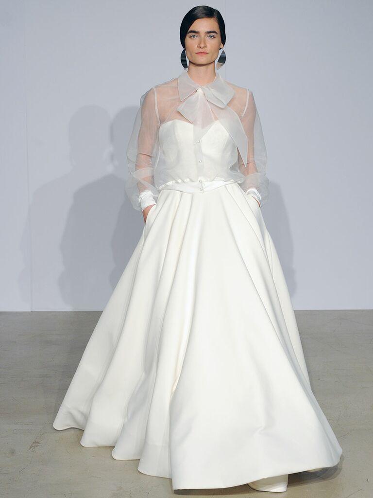 Justin Alexander Fall 2018 Collection: Bridal Fashion Week Photos