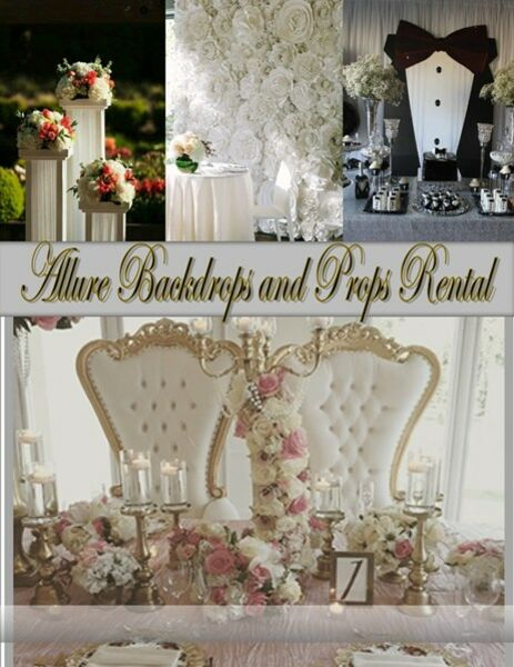 Allure Backdrops and Photo Props Rentals - Photo Booth - Royse City, TX