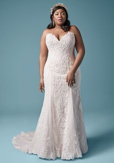 Maggie Sottero ERIN LYNETTE Sheath Wedding Dress