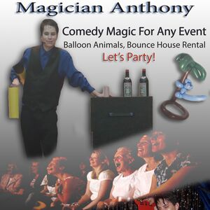 Racine, WI Comedy Magician | Magician Anthony