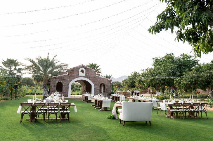 Flora Farms Outdoor Garden Reception