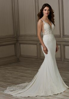 Adrianna Papell Platinum Luna Mermaid Wedding Dress