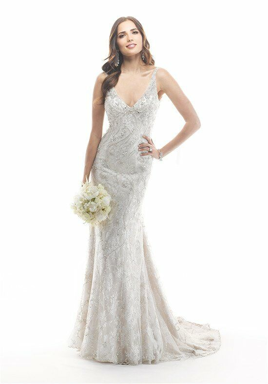 Maggie sottero hazel wedding dress the knot for Wedding registry the knot