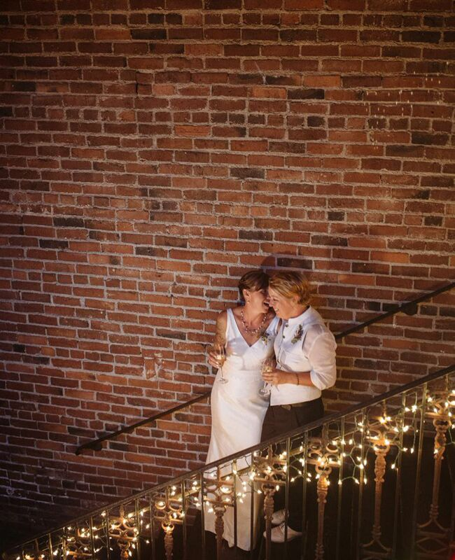 Alissa Haslam and Jeanne Sickel Wedding Photo |<img class=