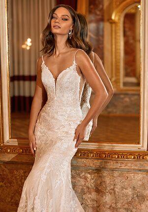 Moonlight Couture H1471 Mermaid Wedding Dress