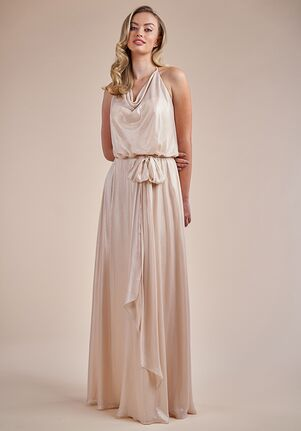 Belsoie Bridesmaids by Jasmine L224052 Halter Bridesmaid Dress