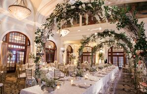 Garden-Inspired Reception at The Crystal Ballroom