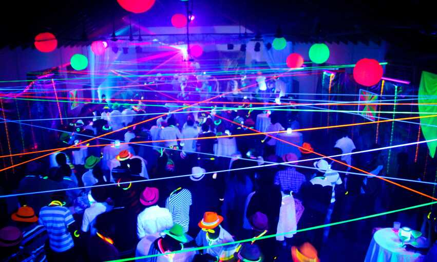Highlighter party themed inspiration and ideas