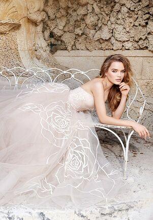 Jim Hjelm 8500 Ball Gown Wedding Dress