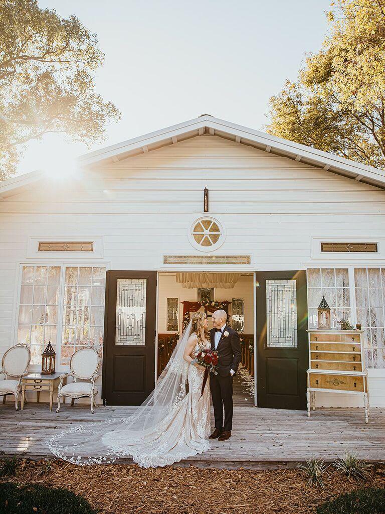 Wedding venue in Dover, Florida.