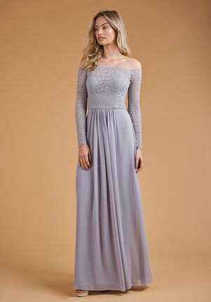 B2 Bridesmaids by Jasmine B223059 Off the Shoulder Bridesmaid Dress
