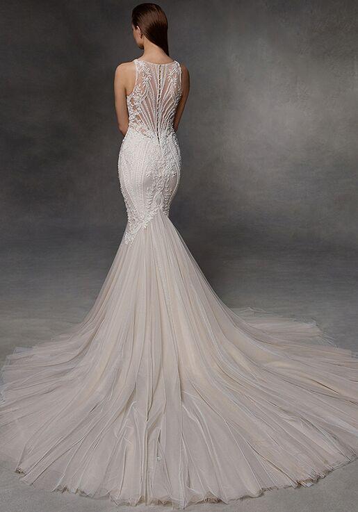 Badgley Mischka Bride Donovan Wedding Dress The Knot,Wedding Dresses With Deep V Neck