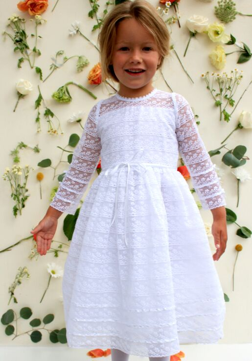 9e4a575c718 Isabel Garretón Reflection Flower Girl Dress - The Knot