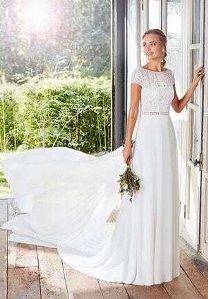 Rosa Clará Boheme CACHE Sheath Wedding Dress
